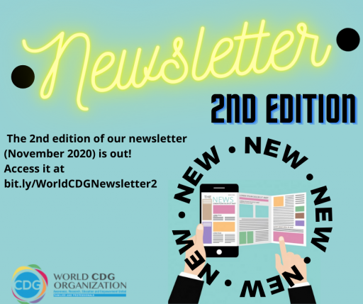 2nd edition of the World CDG Organization Newsletter