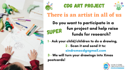 There is an artist inside everyone of us. We would like to know our CDG Community artists.